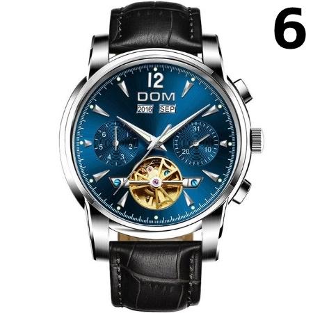腕時計 メカニカル メンズ ウォッチ 自動巻き 男性 防水 レザーストラップ mt2260_画像7
