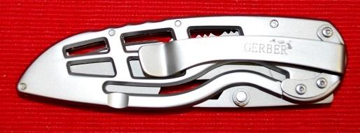 No.01613 GERBER-USA Ripstop ・フォルデングナイフ・Blade:7.5cm Closed:11cm