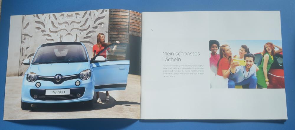 ルノー トゥインゴ RENAULT TWINGO 2017年5月 ドイツ語カタログ 送料無料_画像2