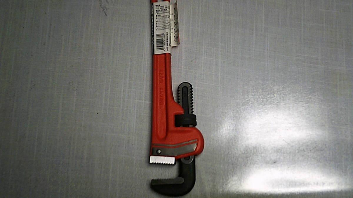【即決】未使用保管品 E-Value パイプレンチ 300mm EPW-300 工具 大工工具_画像2