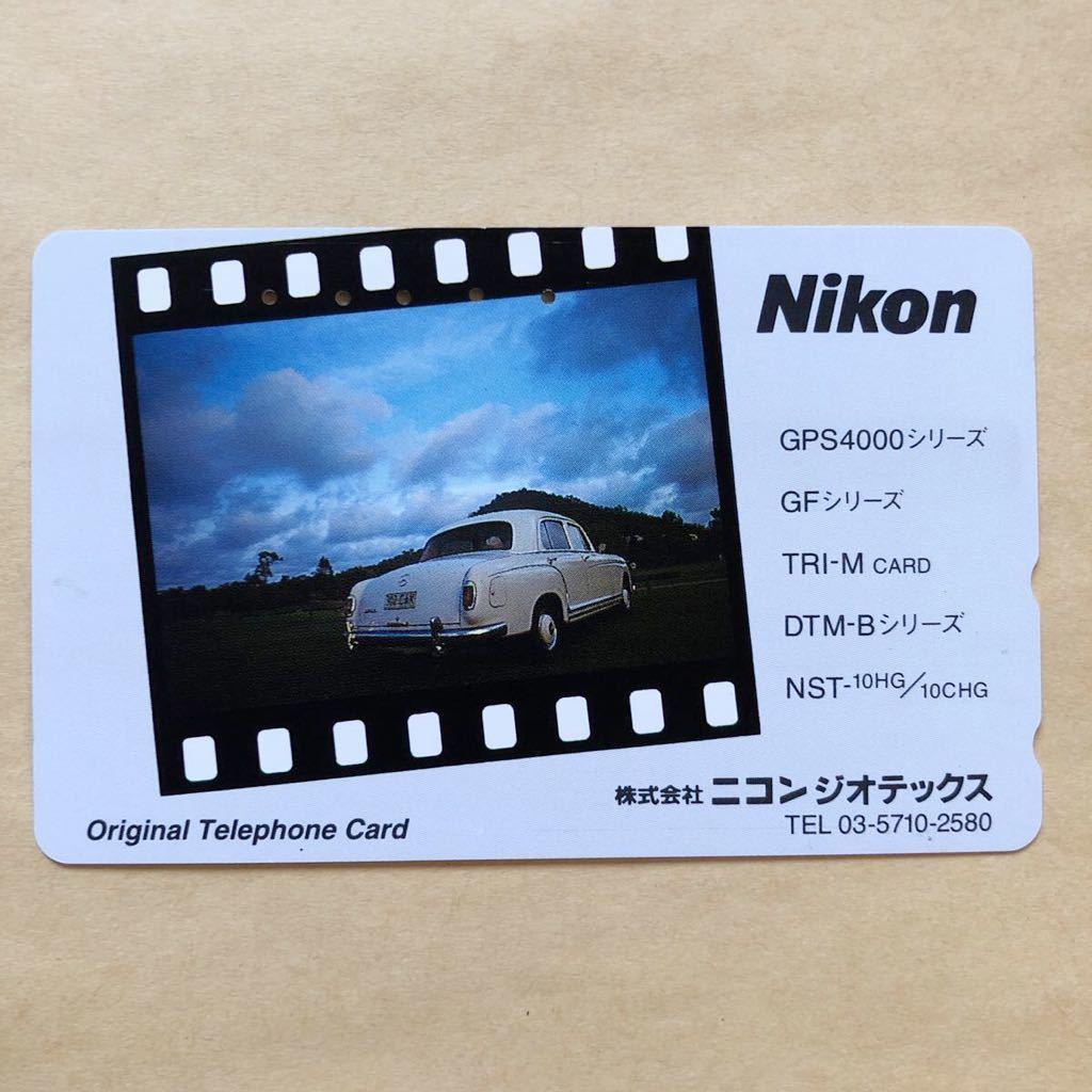 【使用済】 自動車テレカ ニコン ジオテックス_画像1