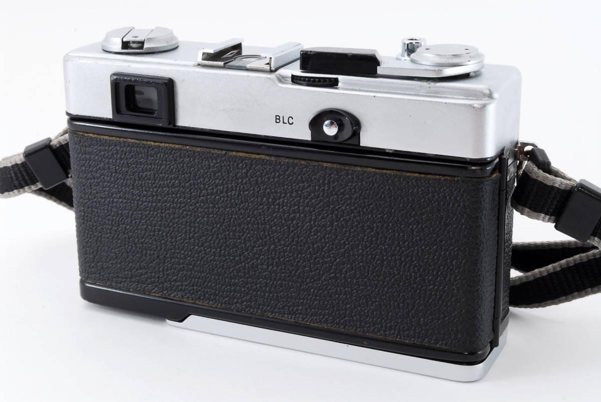 【即決 美品 保障付 動作確認済】Olympus 35 DC Rangefinder w/40mm f/1.7 Lens オリンパス レンジファインダー レンズセット #549177_画像4