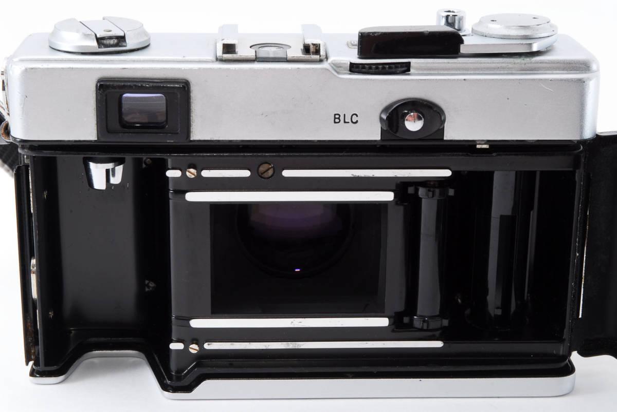 【即決 美品 保障付 動作確認済】Olympus 35 DC Rangefinder w/40mm f/1.7 Lens オリンパス レンジファインダー レンズセット #549177_画像8