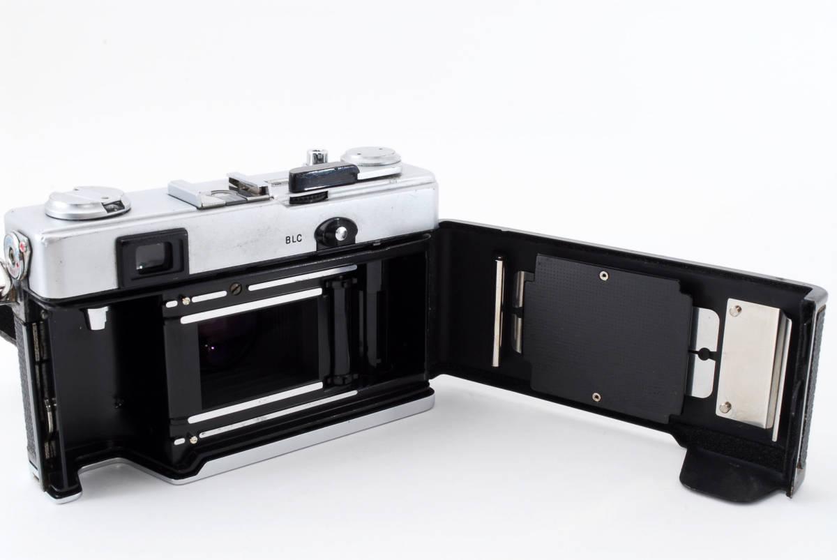 【即決 美品 保障付 動作確認済】Olympus 35 DC Rangefinder w/40mm f/1.7 Lens オリンパス レンジファインダー レンズセット #549177_画像7