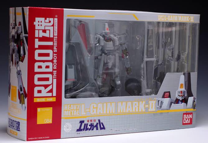 「ROBOT魂 エルガイムMk-Ⅱ(重戦機エルガイムより)」未開封新品 バンダイ_画像1