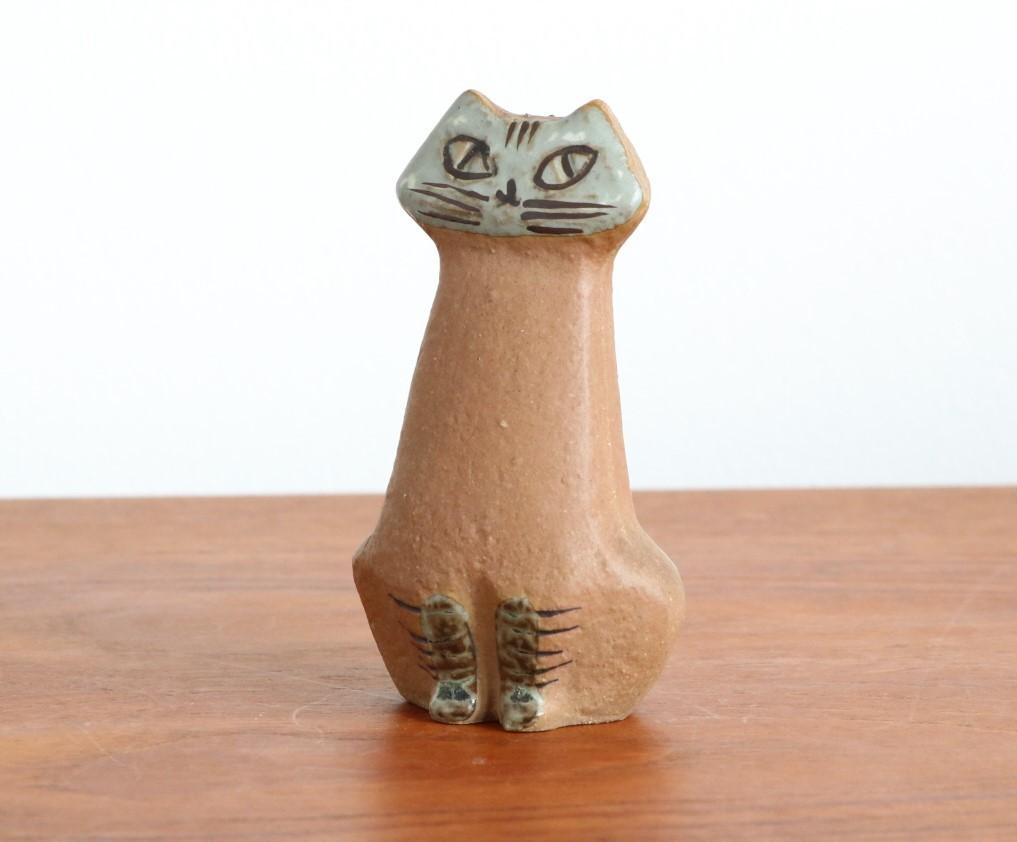 リサ ラーソン Lisa Larson ネコ 猫 ねこ LILLA ZOO Katt グスタフスベリ Gustavsberg_画像4