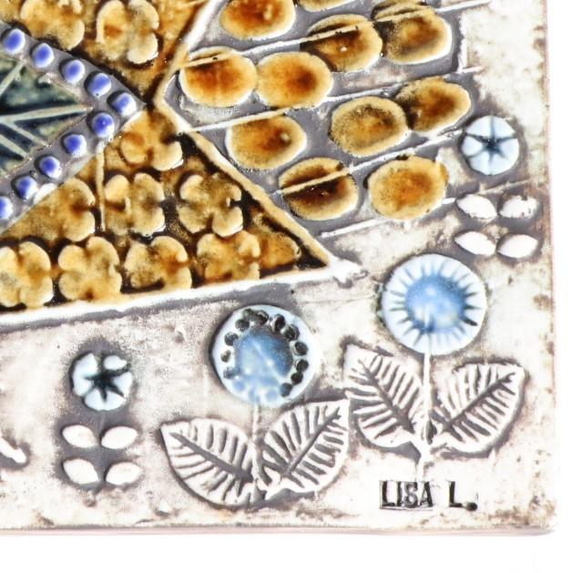リサ ラーソン Lisa Larson UNIK 鳥 Faglar 陶版 北欧ヴィンテージ ①_画像3