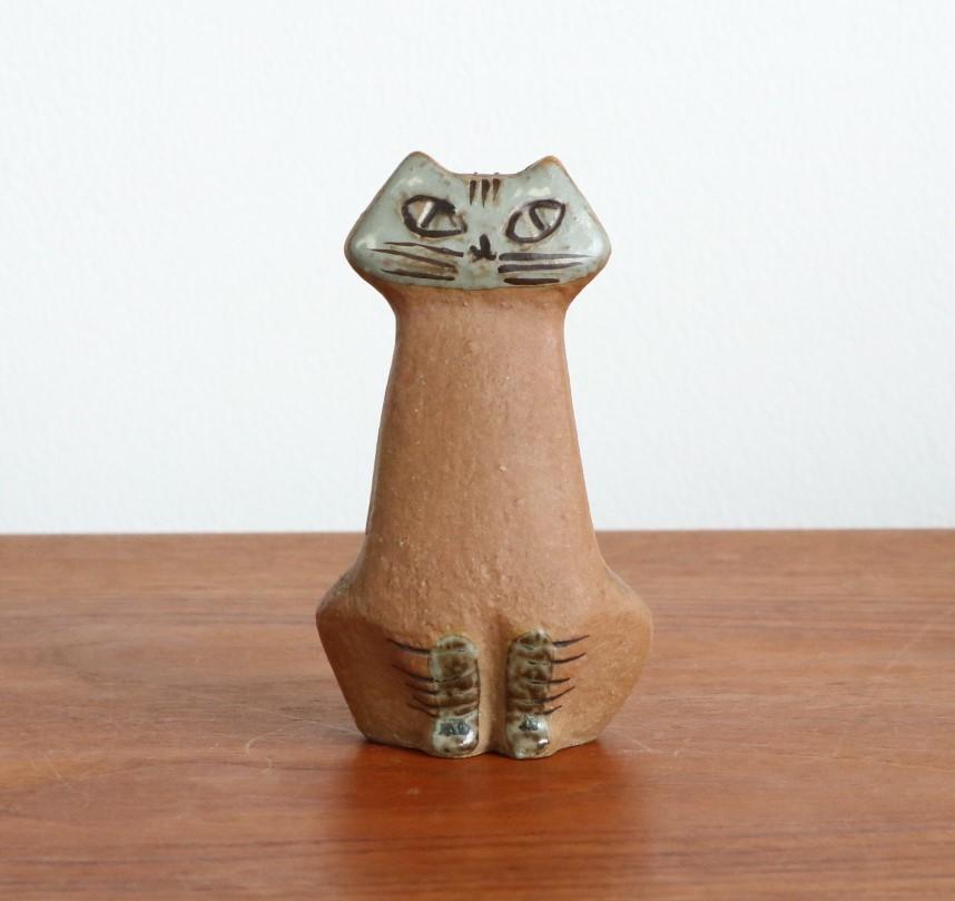 リサ ラーソン Lisa Larson ネコ 猫 ねこ LILLA ZOO Katt グスタフスベリ Gustavsberg_画像1