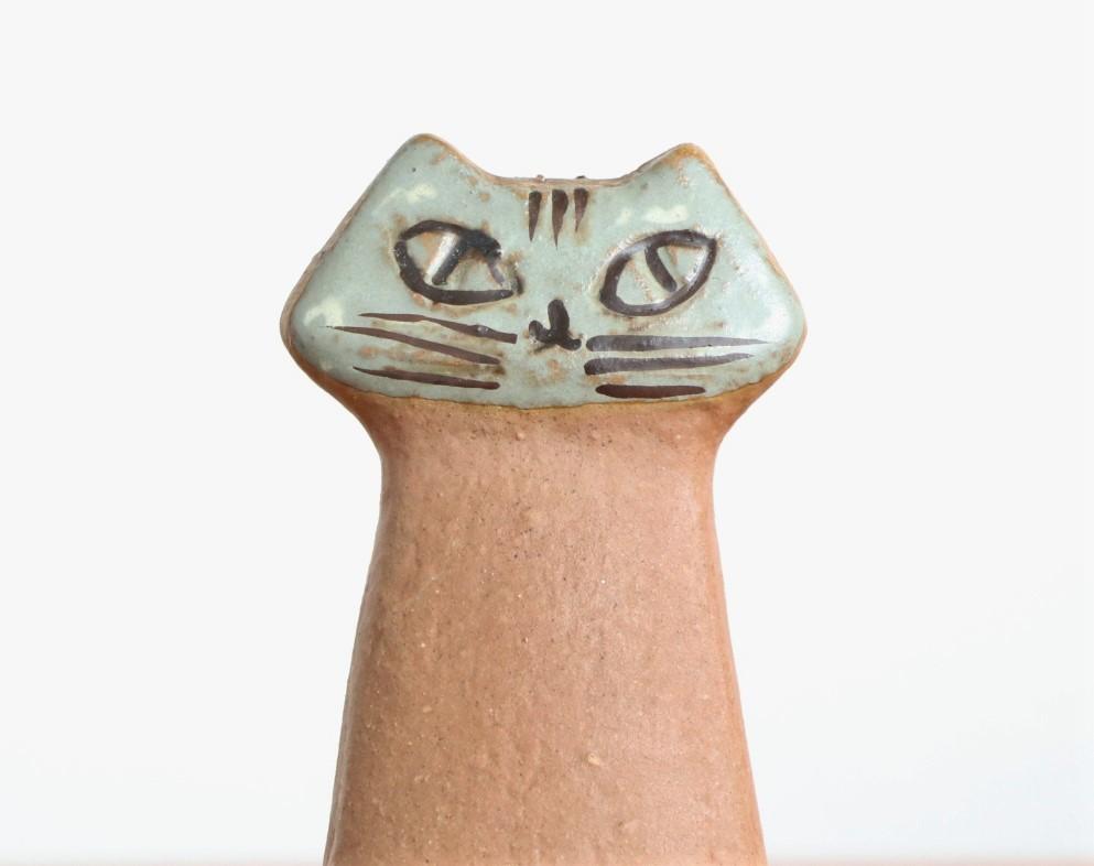 リサ ラーソン Lisa Larson ネコ 猫 ねこ LILLA ZOO Katt グスタフスベリ Gustavsberg_画像2