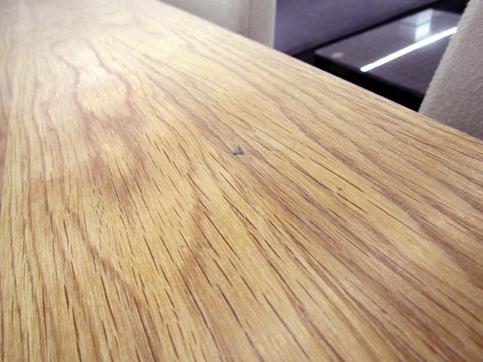 札幌発 ACTUS アクタス ダイニングセット 食卓テーブル/イス4脚 オーク ウレタン塗装_画像10