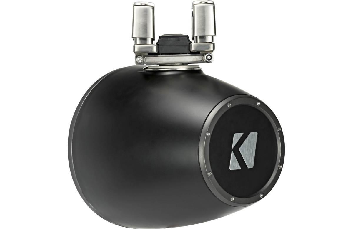 ■USA Audio■キッカー Kicker 最新型LED付マリーンタワーシステム KMTC114 (44KMTC114) Charcoal(黒色) 28cm Max.600W●保証付●税込_画像7