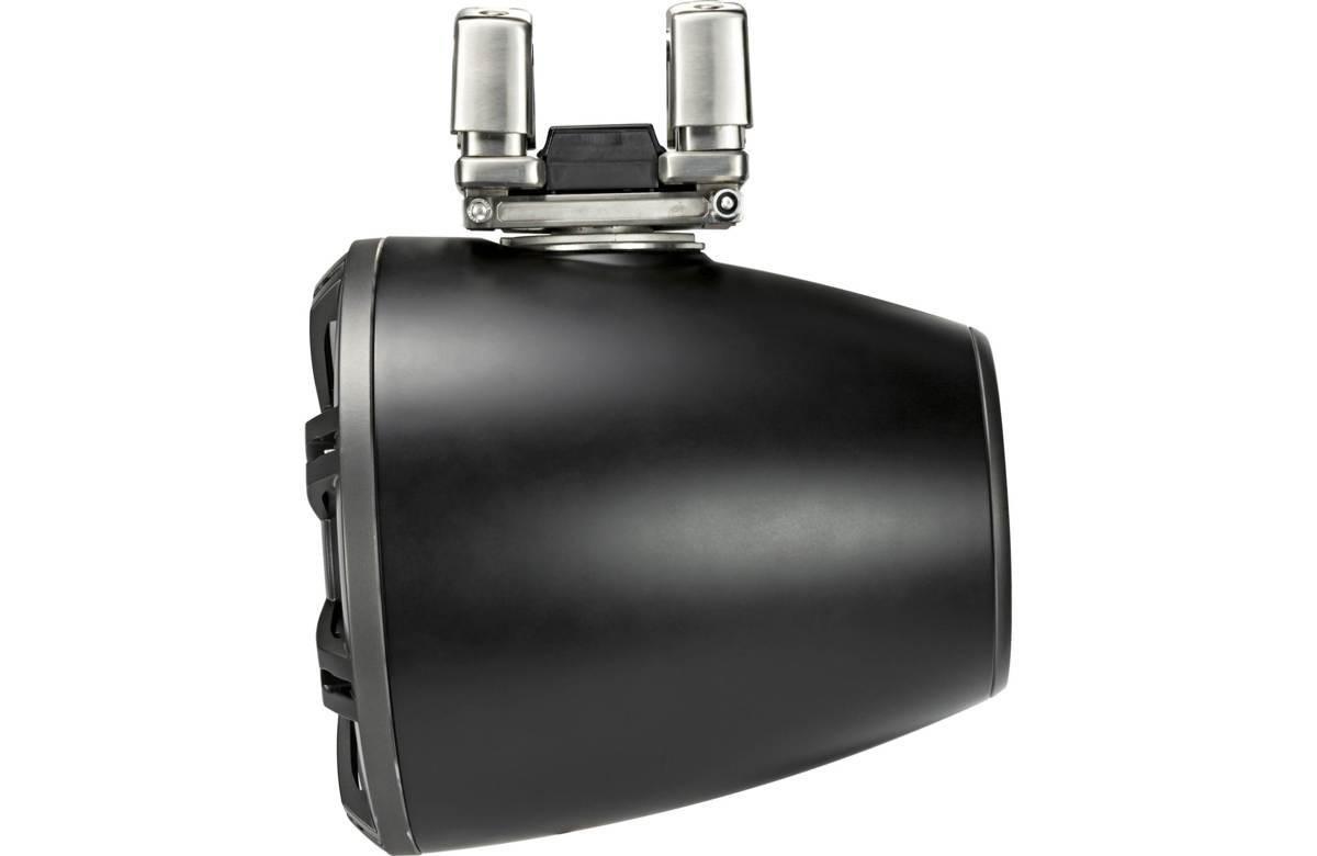 ■USA Audio■キッカー Kicker 最新型LED付マリーンタワーシステム KMTC114 (44KMTC114) Charcoal(黒色) 28cm Max.600W●保証付●税込_画像6