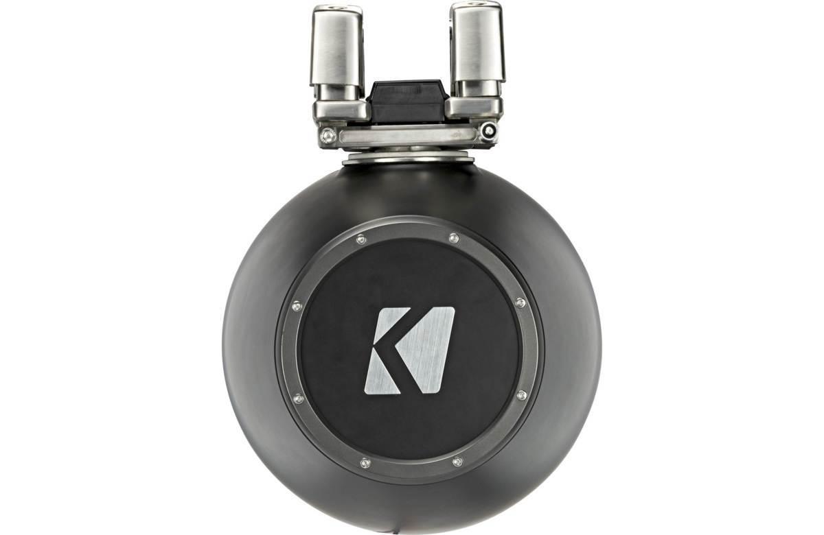 ■USA Audio■キッカー Kicker 最新型LED付マリーンタワーシステム KMTC114 (44KMTC114) Charcoal(黒色) 28cm Max.600W●保証付●税込_画像8