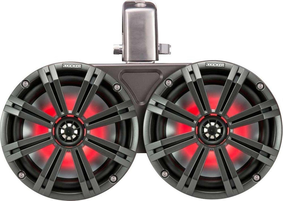 「■USA Audio■キッカー Kicker 最新型LED付マリーンタワーシステム KMTDC65 (45KMTDC65) 16.5cm Max.390W●保証付●税込」の画像1