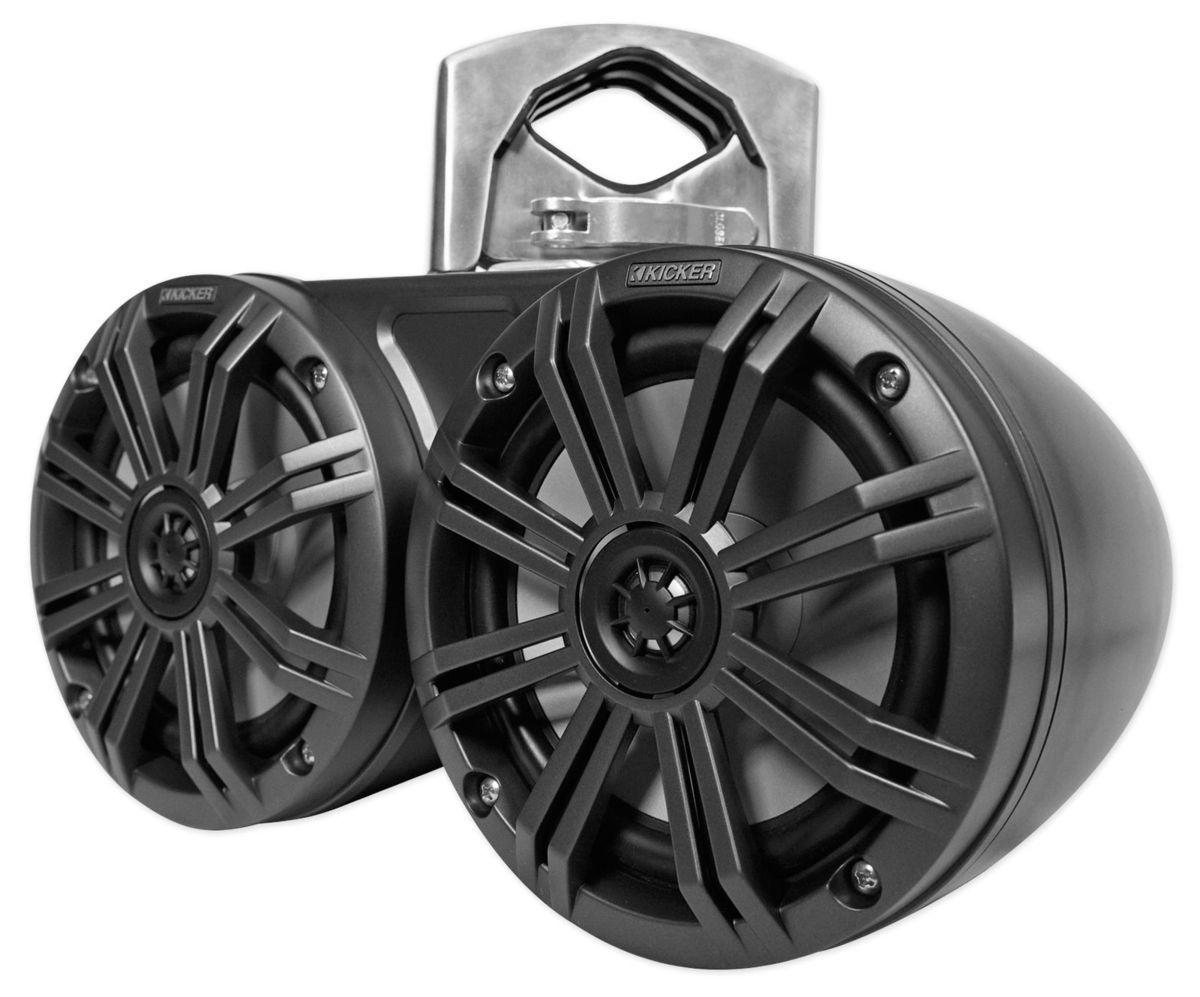 「■USA Audio■キッカー Kicker 最新型LED付マリーンタワーシステム KMTDC65 (45KMTDC65) 16.5cm Max.390W●保証付●税込」の画像3