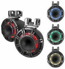 「■USA Audio■キッカー Kicker 最新型LED付マリーンタワーシステム KMTC114 (44KMTC114) Charcoal(黒色) 28cm Max.600W●保証付●税込」の画像2