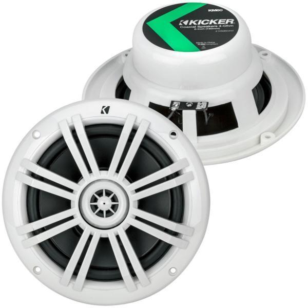 ■【USA Audio】キッカー Kicker KM604W 16.5cm マリーングレード Max.150W●保証付●税込_画像1