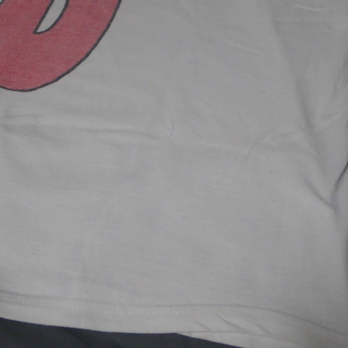 ■ 90s GBH Vintage T-shirt ■ ジービーエイチ ヴィンテージ Tシャツ 白 コットン 当時物 本物 バンドT ロックT G.B.H パンク_画像8