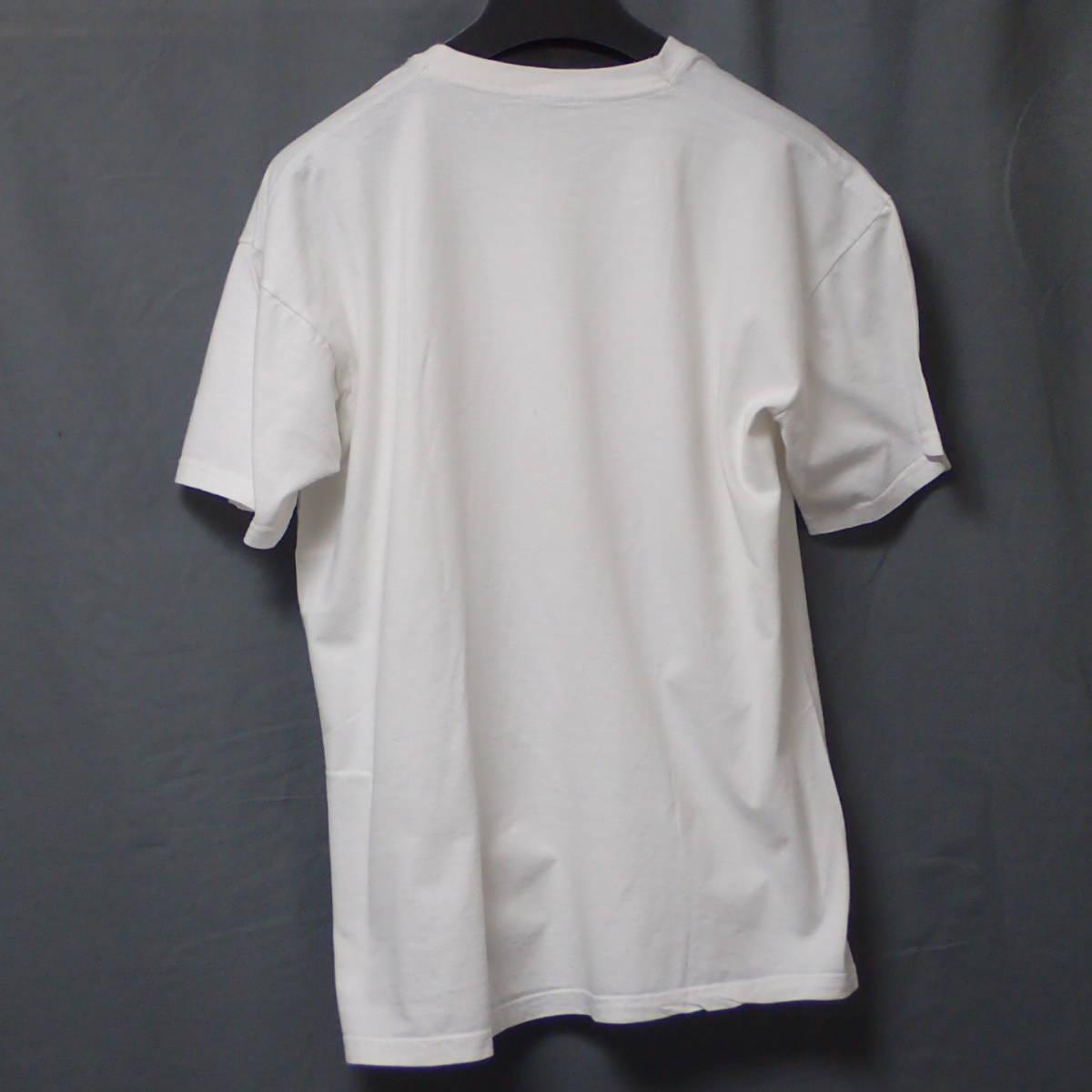 ■ 90s GBH Vintage T-shirt ■ ジービーエイチ ヴィンテージ Tシャツ 白 コットン 当時物 本物 バンドT ロックT G.B.H パンク_画像4
