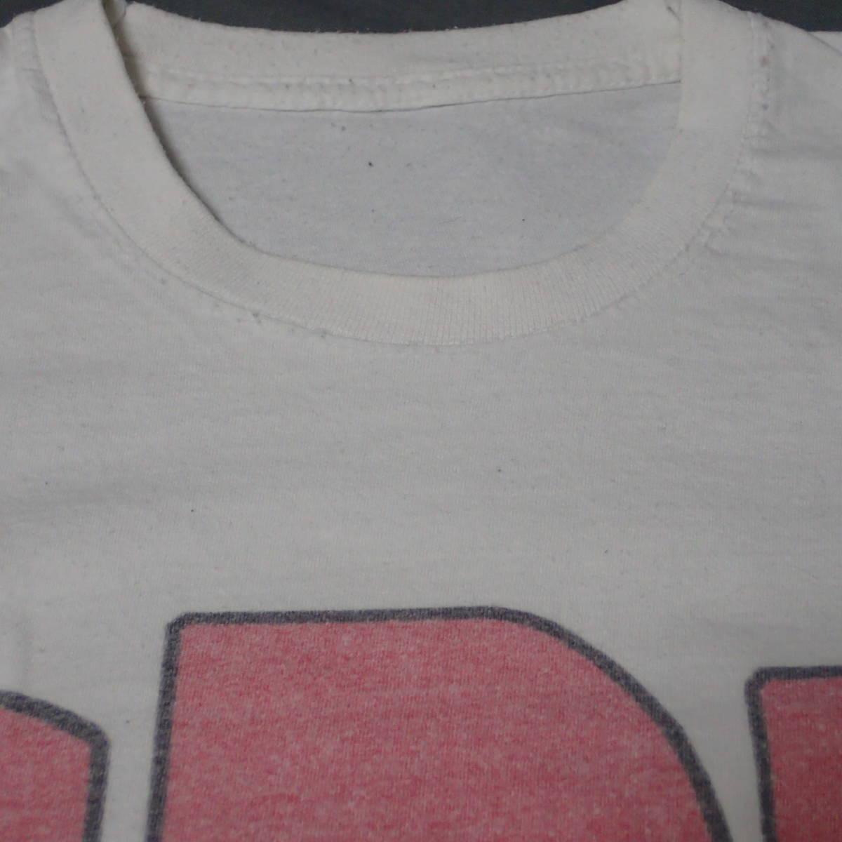 ■ 90s GBH Vintage T-shirt ■ ジービーエイチ ヴィンテージ Tシャツ 白 コットン 当時物 本物 バンドT ロックT G.B.H パンク_画像5