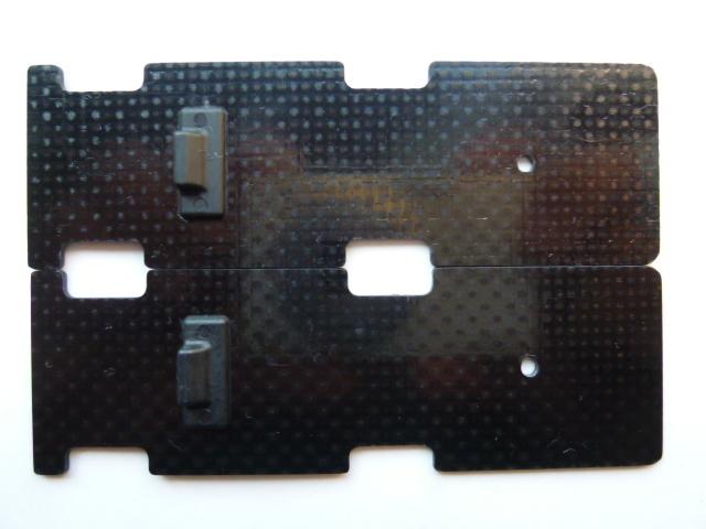 T-REX450L バッテリーマウント 【H45B011XXW】 2枚セット  ☆送料無料