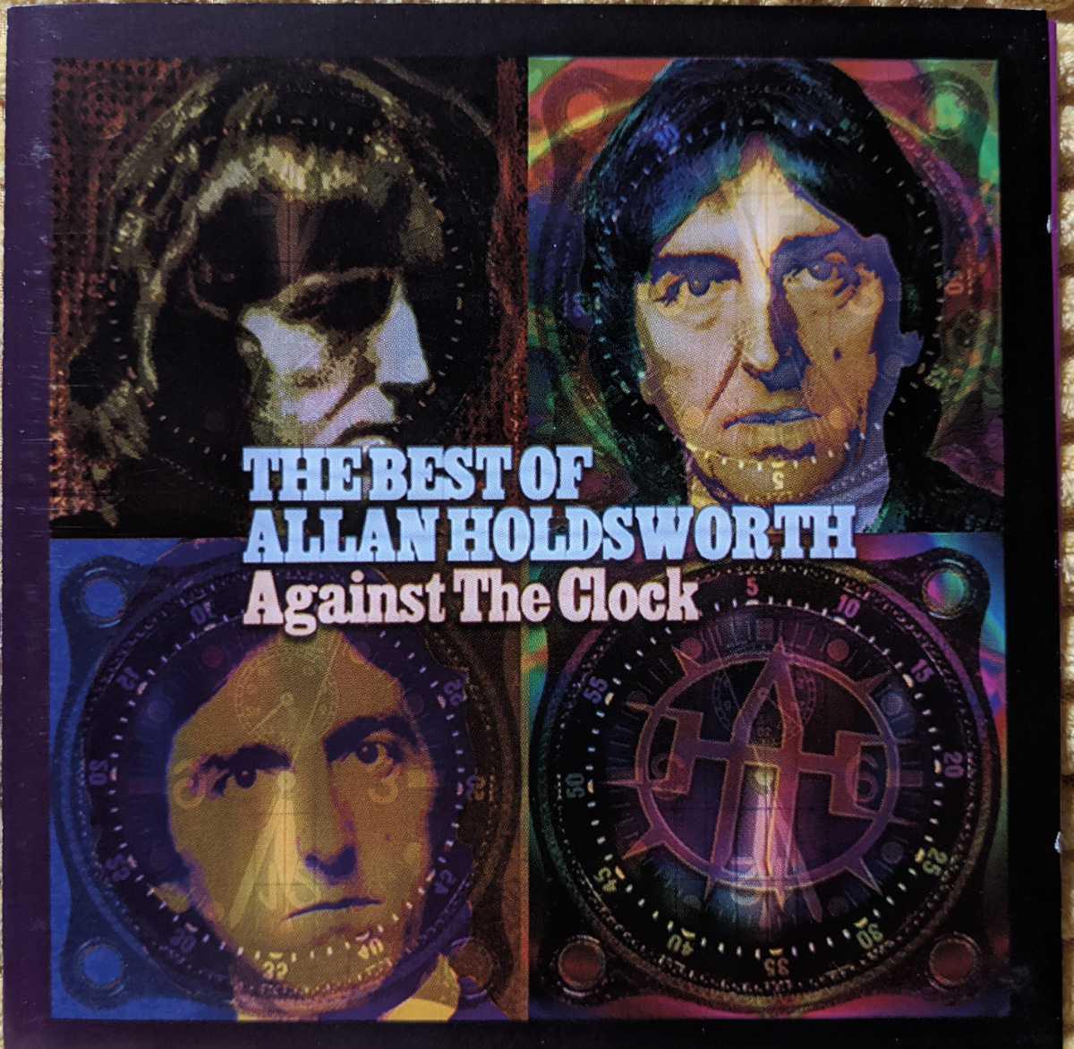 【2枚組】Allan Holdsworth / The Best Of Allan Holdsworth against The Clock / CR780-2 / 3760145927804 / アラン・ホールズワース_画像1