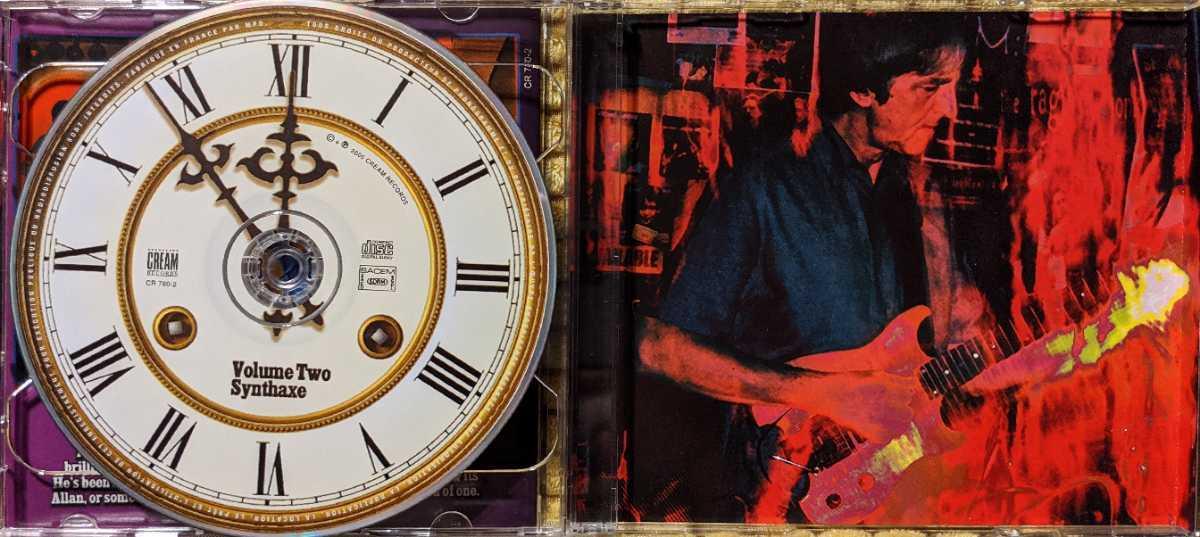 【2枚組】Allan Holdsworth / The Best Of Allan Holdsworth against The Clock / CR780-2 / 3760145927804 / アラン・ホールズワース_画像3