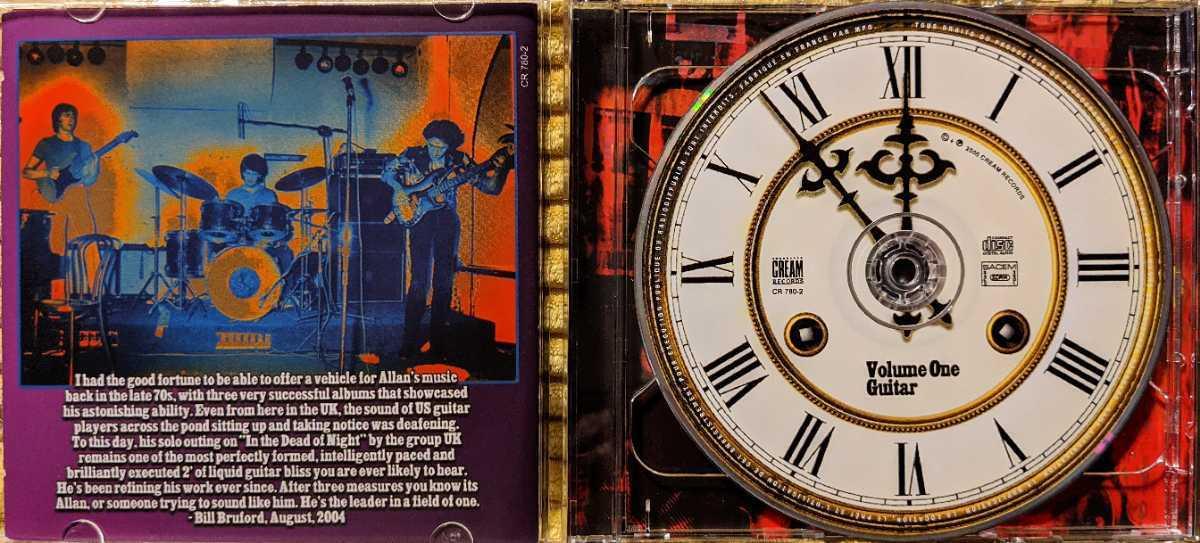 【2枚組】Allan Holdsworth / The Best Of Allan Holdsworth against The Clock / CR780-2 / 3760145927804 / アラン・ホールズワース_画像2