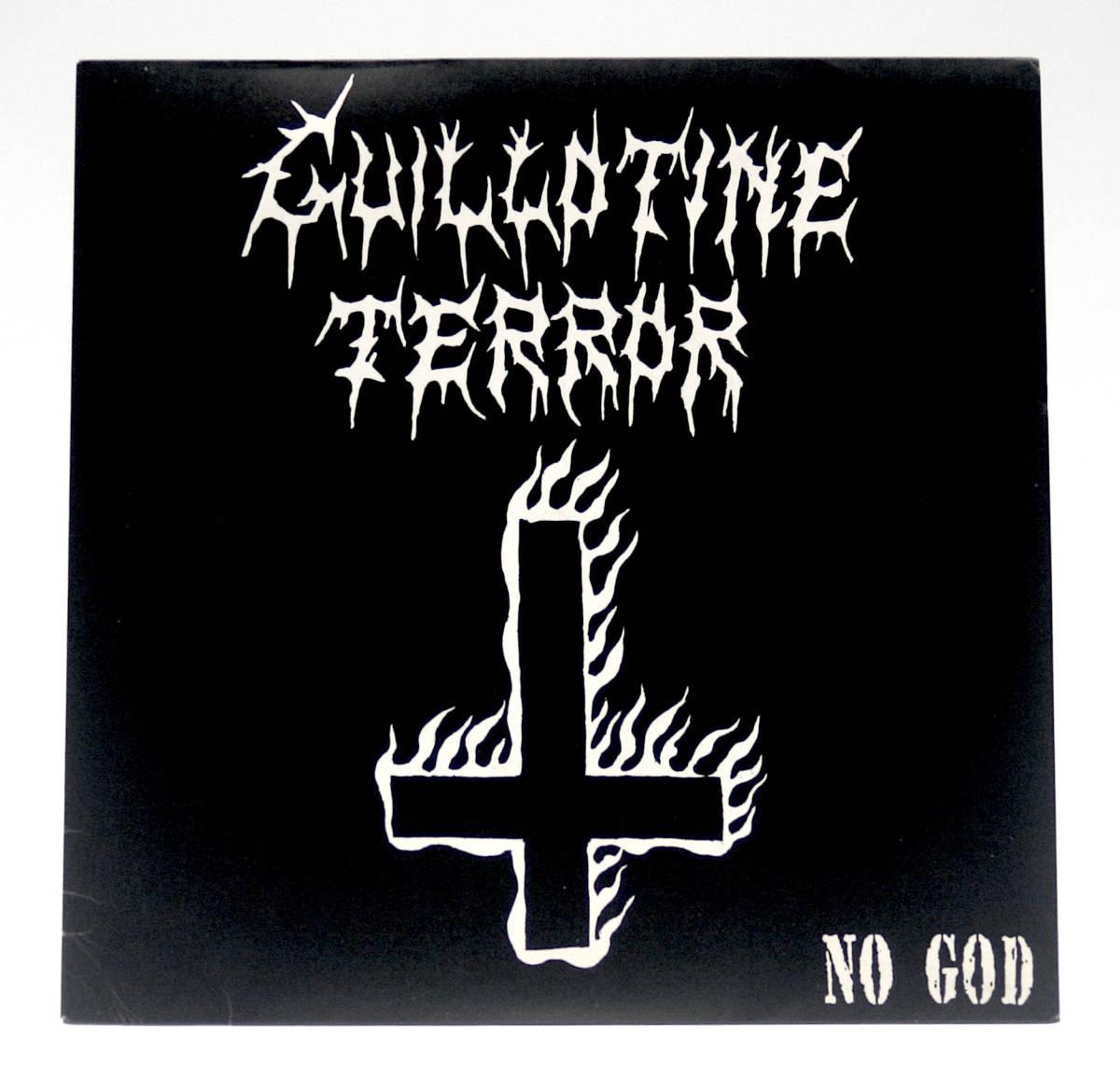 新品未開封 : レア★GUILLOTINE TERROR/NO GOD (ギロチン・テラー 義狼魑武掟羅亜_画像1