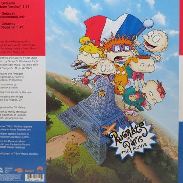 【SALE】ES16 / T-Boz / My Getaway / 2000 / レコード_画像2