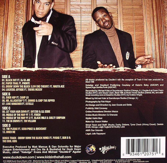 新品未使用 Kidz In the Hall / The In Crowd 2LPレコード 送料無料 (0499)