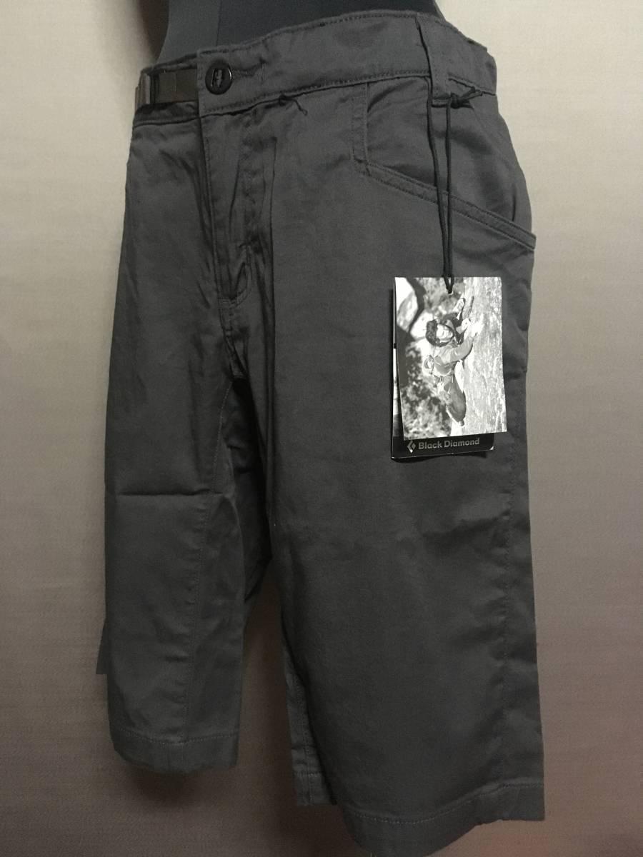 BD03 新品 Black Diamond Credo Shorts 30 Slate ブラックダイヤモンド クレード ショーツ ショートパンツ ストレッチ スレート グレー_画像1
