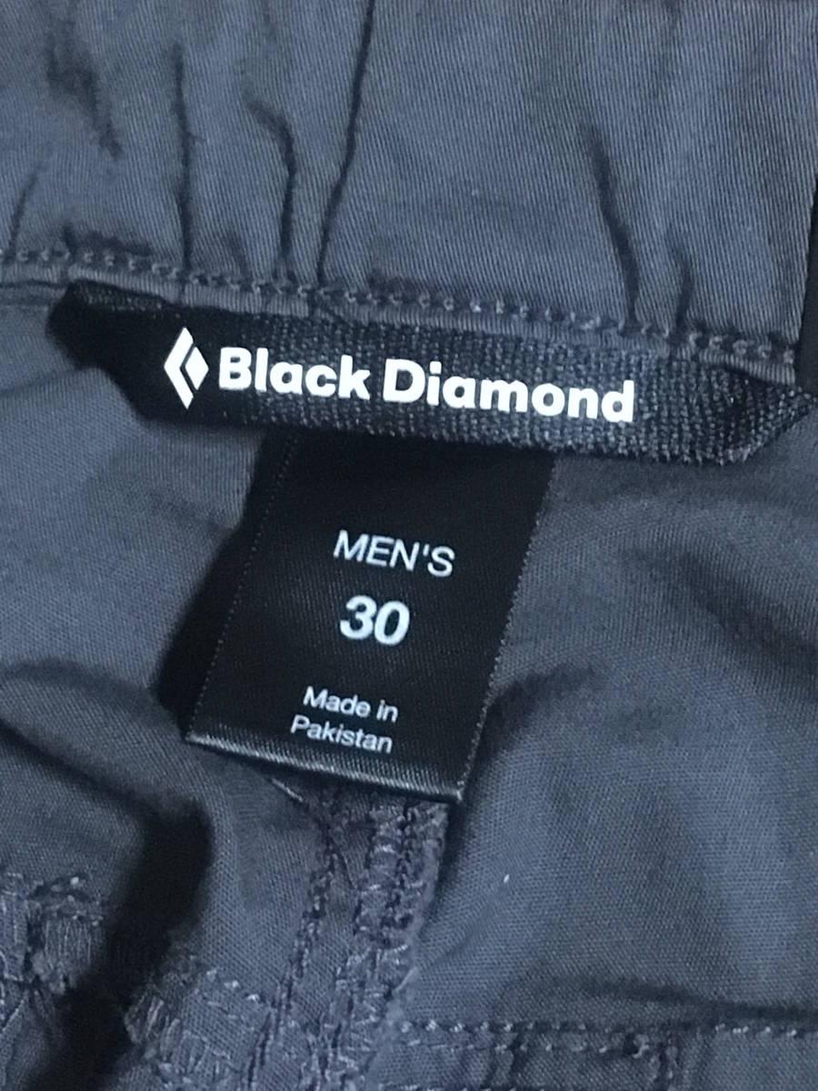 BD03 新品 Black Diamond Credo Shorts 30 Slate ブラックダイヤモンド クレード ショーツ ショートパンツ ストレッチ スレート グレー_画像6