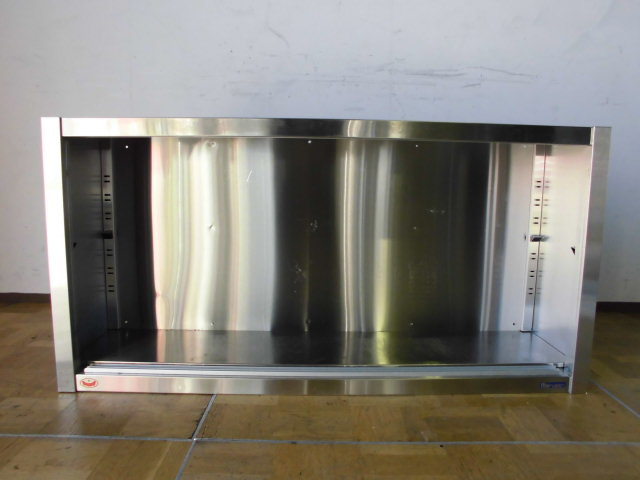 中古厨房 業務用 マルゼン 食器棚 食器庫 飲食店 店舗 W1200×D300×H600mm ステンレス_画像4