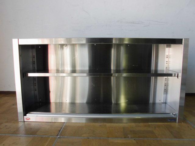 中古厨房 業務用 マルゼン 食器棚 食器庫 飲食店 店舗 W1200×D300×H600mm ステンレス_画像3