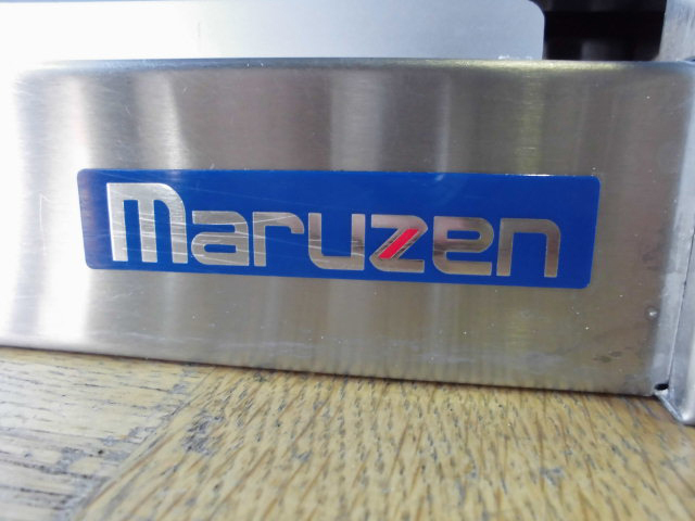 中古厨房 業務用 マルゼン 食器棚 食器庫 飲食店 店舗 W1200×D300×H600mm ステンレス_画像5