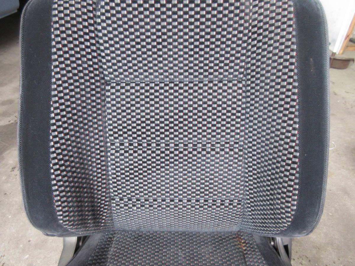 AE92 カローラ FX GT 純正 シート 助手席側 左側 (個人宅発送不可) _画像3