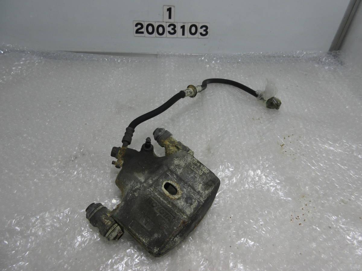 AE92 カローラ FX GT フロント 左側 キャリパー オーバーホール用 ジャンク ピストン 固着_画像1