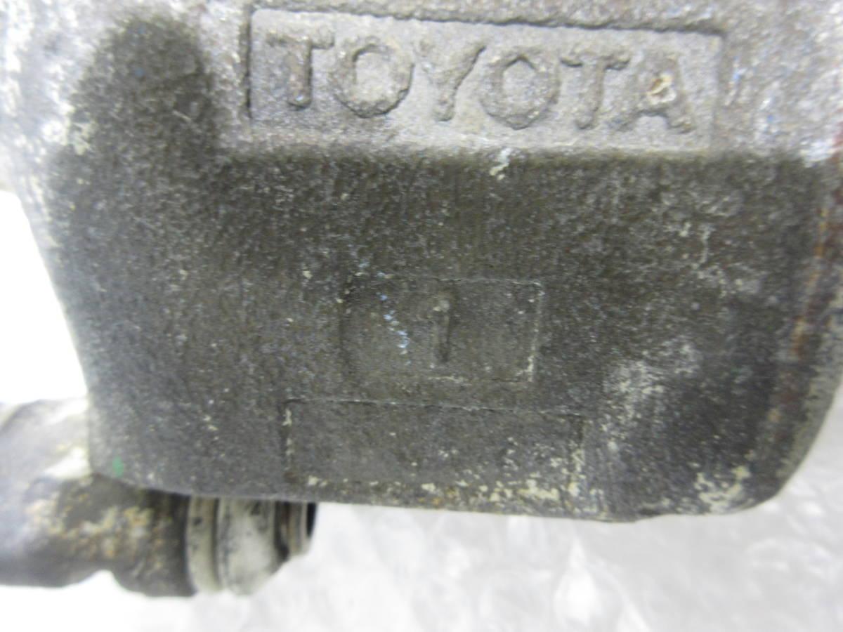 AE92 カローラ FX GT フロント 左側 キャリパー オーバーホール用 ジャンク ピストン 固着_画像7
