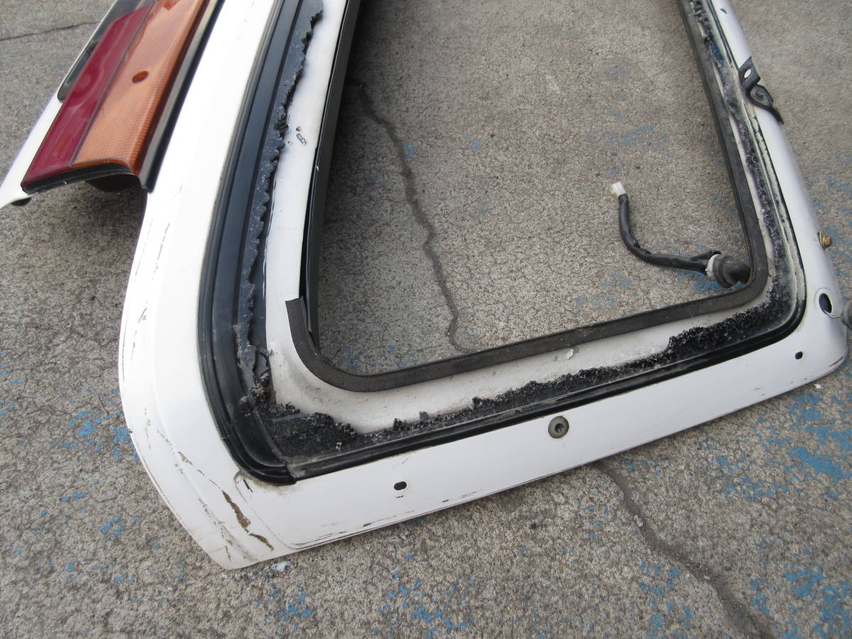 AE92 カローラ FX GT バックドア トランク ハッチ バック ドア (個人宅発送不可) _画像5