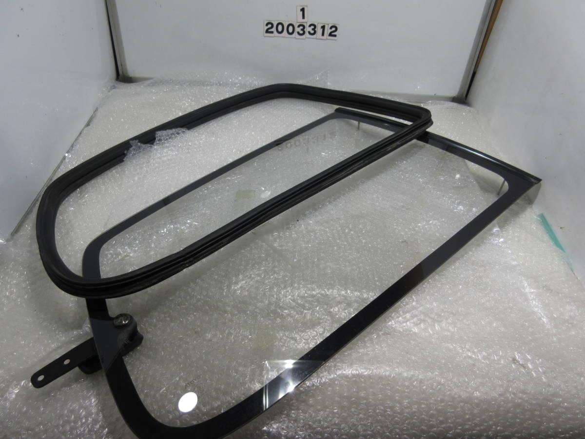 AE92 カローラ FX GT サイド ガラス クォーター ガラス モール 一式 左右 セット_画像1