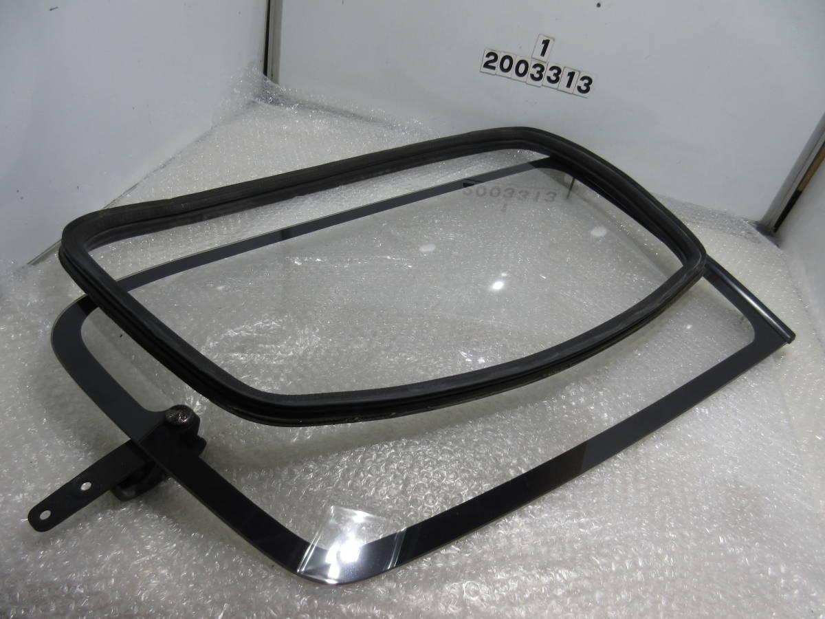 AE92 カローラ FX GT サイド ガラス クォーター ガラス モール 一式 左右 セット_画像7