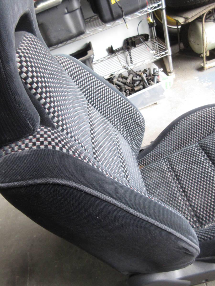 AE92 カローラ FX GT 純正 シート 助手席側 左側 (個人宅発送不可) _画像8