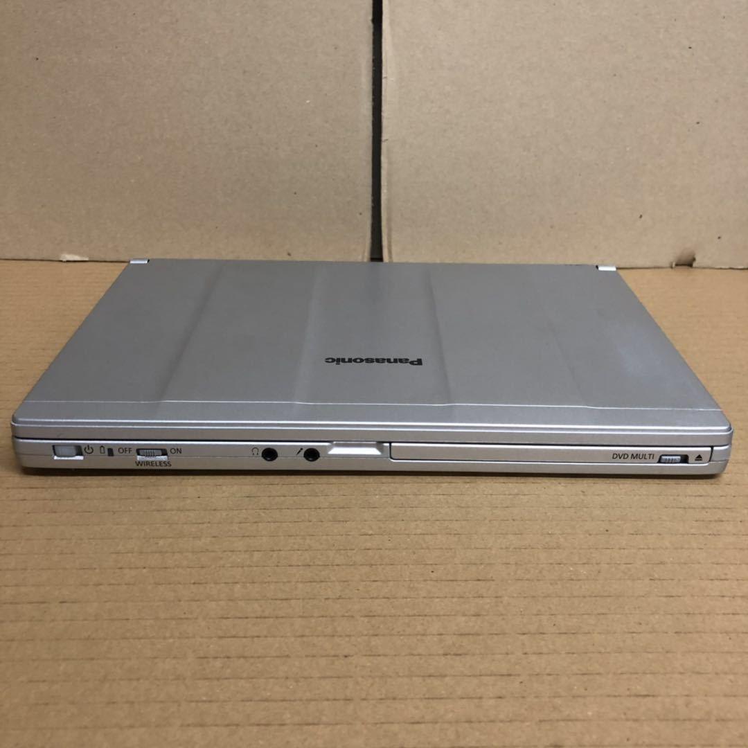 格安/ノートパソコン/Win10/Panasonic Let'snote CF-SX2/第三世代 i5 2.70GHz/Office2016 搭載/メモリ4GB/新品SSD240GB/12.1インチ/無線LAN_画像4