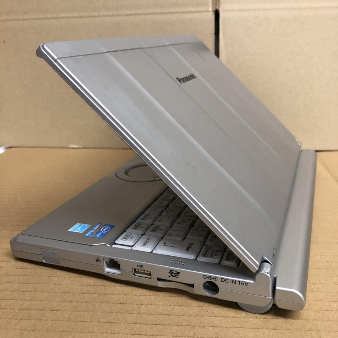 格安/ノートパソコン/Win10/Panasonic Let'snote CF-SX2/第三世代 i5 2.70GHz/Office2016 搭載/メモリ4GB/新品SSD240GB/12.1インチ/無線LAN_画像3