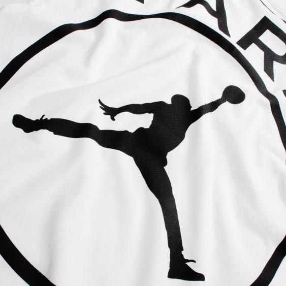 【M】 PSG X JORDAN LOGO TEE NIKE パリ サンジェルマン ジョーダン ナイキ Tシャツ Paris Saint German AJ white 白 ホワイト 新品未使用