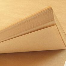 送料無料 クラフト用紙/クラフト紙/クラフトペーパー/A4/50枚 ハンドメイド コピー用紙 両面印刷対応  _画像2