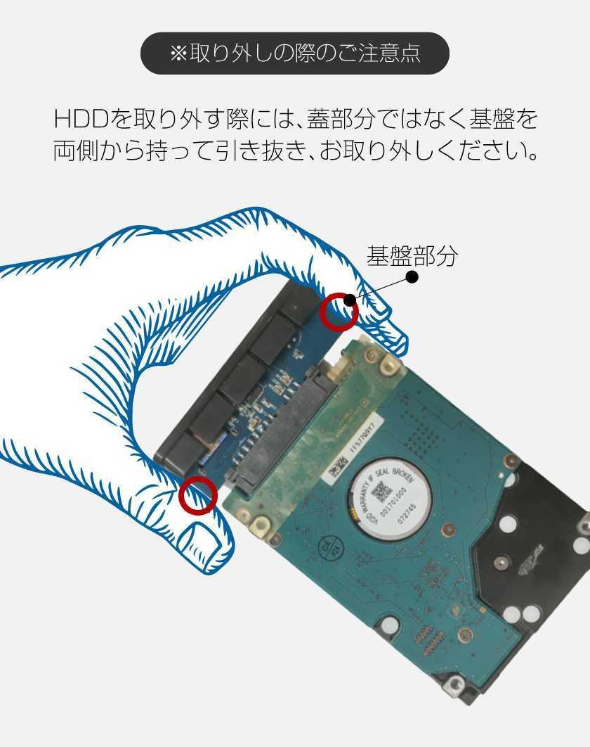 高速 USB3.0 HDD ケース 外付け 2.5インチ ハードディスク