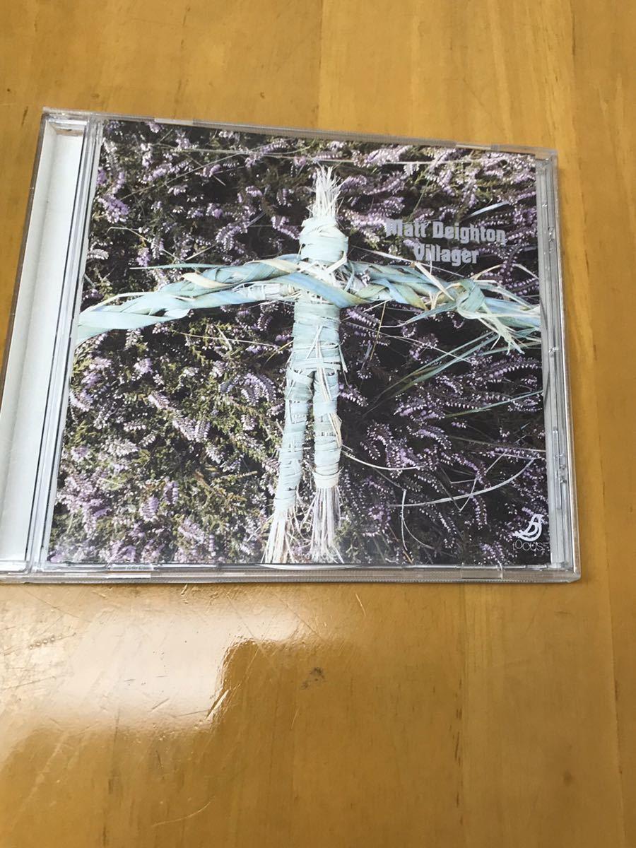 MATT DEIGHTON / VILLAGER 輸入盤CD アシッド フォーク 名盤_画像1