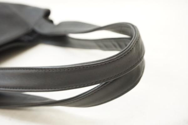 美品 COACH オールドコーチ オールレザートートバッグ ブラック 4181 メンズレディース ショルダー ハンドバッグ ビンテージ j19_画像3